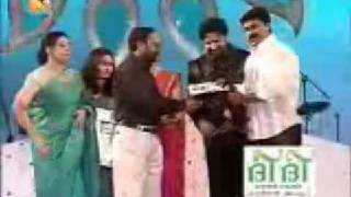 DILEEP : RECIEVING AMRITA AWARD 2008