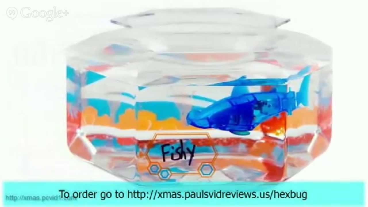 Toy review hexbug aquabot 2 0 robotic toys aquabot hexbug for Aquabot smart fish
