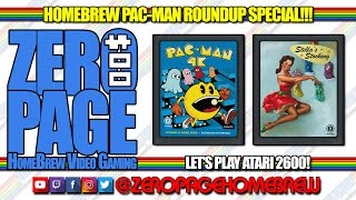 Pac-Man for 2600 Roundup (10 Versions!), Stella's Stocking: Atari 2600 Livestream!