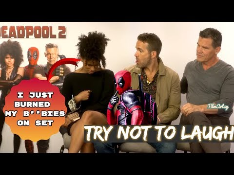 Deadpool 2 Bloopers and Funny Moments - Try Not To Laugh 2018 en streaming