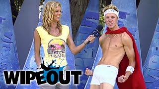 Buff Man Saves The Day | Wipeout HD