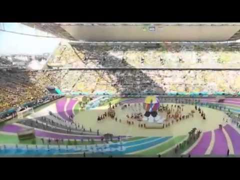Ceremonia de inauguración Mundial Brasil 2014-Ceremonia Completa