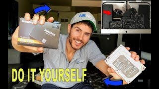 How to make your iMAC 5 times faster | 2012-2017 SSD UPGRADE WITH THERMAL SENSOR | Step by Step