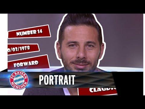 Claudio Pizarro Portrait