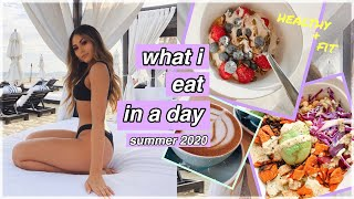 What I Eat in A Day Summer 2020 *following models diets* | Roxette Arisa