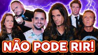 NÃO PODE RIR! com Kiko Loureiro, Bruno Sutter e Marcinho Eiras