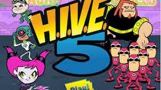 Teen Titans Go ! - H.I.V.E 5 - Teen Titans Games