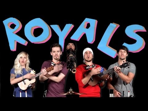 Royals - Walk off the Earth Music Videos