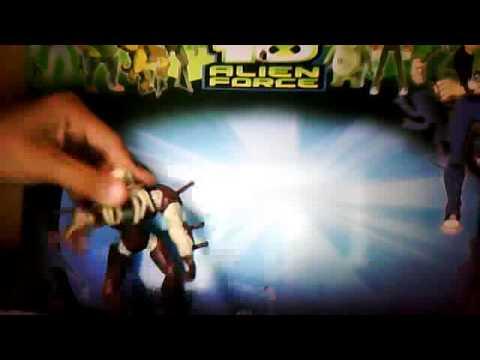 video de ben 10 juguetes 1 parte