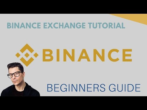 Trading Crypto on Binance Exchange - Beginners Guide