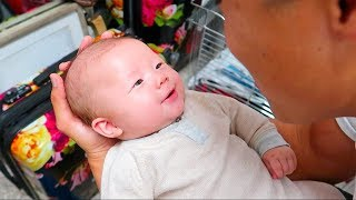 Baby's First Laugh (cutest noise ever)