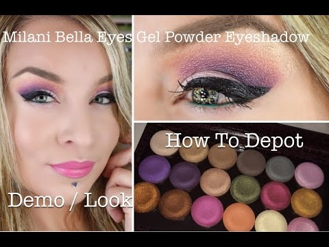 1st Impression : Look : Depot How To : Milani Bella Eyes Gel Powder Eyeshadow