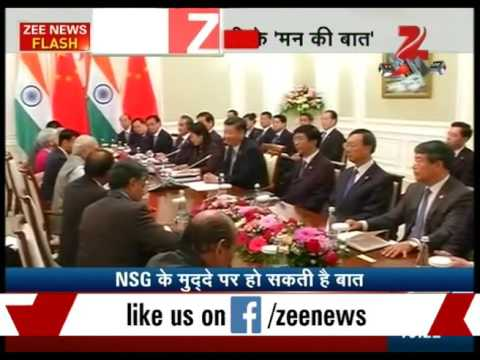 PM Narendra Modi meeting with Xi Jinping begins in SCO annual meet in Tashkent