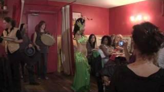 """Jalya Live Belly Dancing """"Yalla Bina Yalla (Mashallah)"""" by Alabina-Ishtar."""