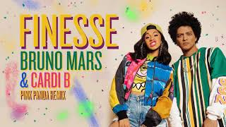 Download Lagu Bruno Mars - Finesse (Pink Panda Remix) [feat. Cardi B] Gratis STAFABAND