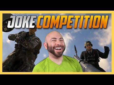 Joke Competition in Call of Duty WW2!