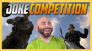 Joke Competition in Call of Duty WW2!