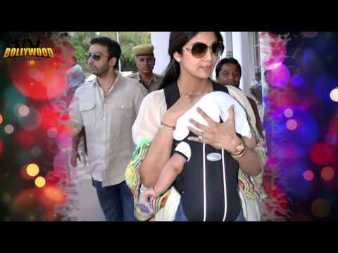 Lara Dutta's Dauther Saira's First Day Out video
