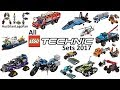 All Lego Technic Sets 2017 - Compilation - Lego Speed Build Review