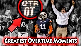 Greatest Overtime Plays in NFL History