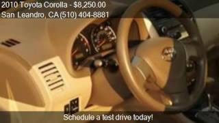 2010 Toyota Corolla LE Sedan 4D for sale in San Leandro, CA