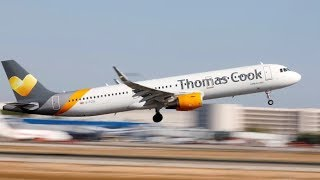 Tour company Thomas Cook collapses, stranding 600,000 passengers