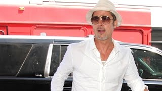 "Brad Pitt Says He's ""Not Interested"" In Politics"