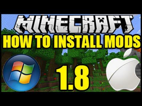 """How To Install Mods Minecraft"" 1.8 - (Minecraft Mods) - (Minecraft Mod 1.8) - """