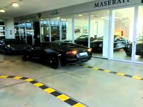 Водитель Audi спас Lamborghini LP700 Aventador