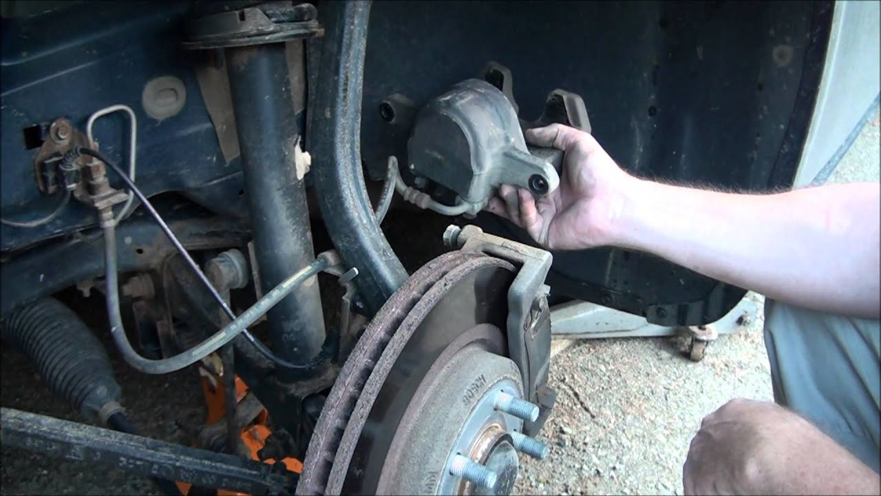 Diy How To Replace Front Brake Pads And Rotors 2006