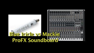 Soundboard vs XLR to USB Converter (Mackie ProFX vs Blue Icicle)