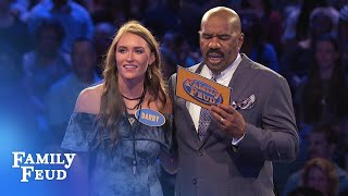 Can DARBY make a BIG comeback in Fast Money? | Family Feud
