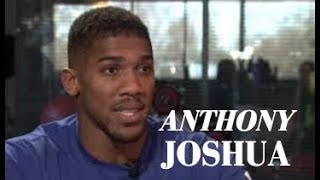 ANTHONY JOSHUA SAYS DEONTAY WILDER NEEDS TO BE REALISTIC WITH OFFER IF HE WANTS TOO FIGHT!