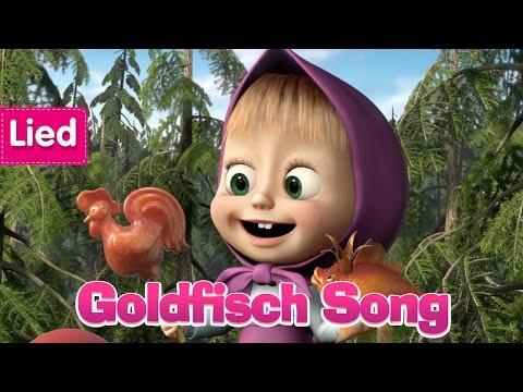 Mascha und der Bär - Goldfisch Song 🐠  (Der Zauberfisch)