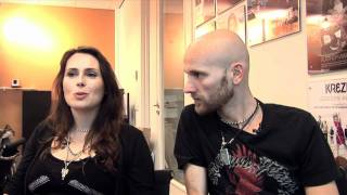 Interview Within Temptation - Sharon den Adel and Robert Westerholt (part 1)