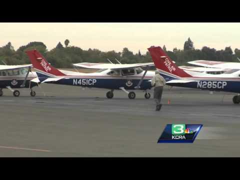 FEMA patrol flies over disaster zones to take high-quality photos