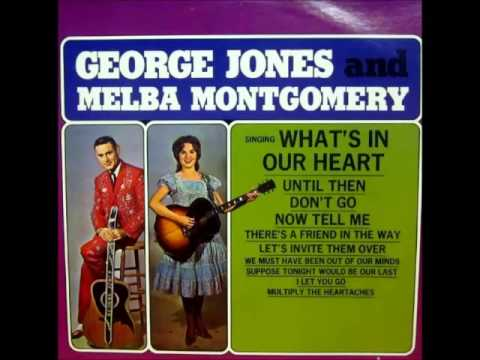 George Jones - I Let You Go