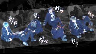 열정적인 무대 뒤 쓰러진 방탄소년단 BTS, After the passionate stage : Edited Fancam : 고척돔