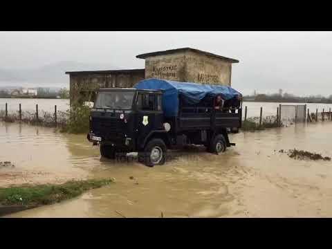 Përmbytjet, ndërhyrjet në terren e FA - Top Channel Albania - News - Lajme