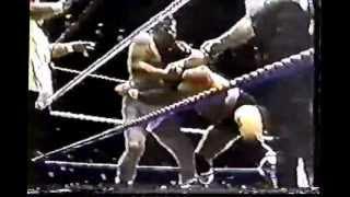 Spectrum Wrestling - Captain Lou Albano & Don Muraco vs Jimmy Snuka & Arnold Skaaland