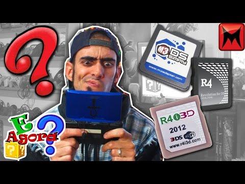 Flash cards para nintendo DS e 3DS, como utilizar - E agora?