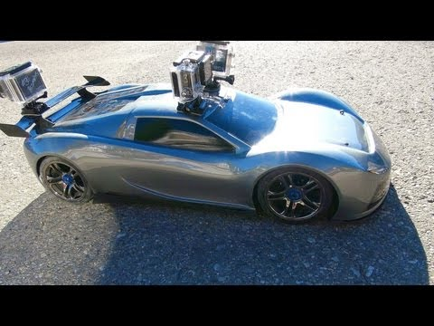 RC ADVENTURES - TRAXXAS XO-1 - 3 GoPro Cameras Onboard the SUPER CAR