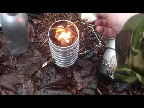 Bushcraft Cookset Swiss Volcano Stove Army Surplus Cookset