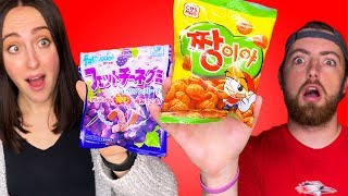 Taste Testing Asian Snacks From Amazon!
