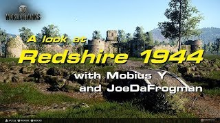 Redshire 1944 Map Drive - WORLD OF TANKS CONSOLE