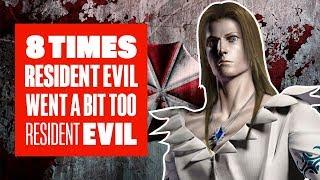8 Times Resident Evil Went A Bit Too Resident Evil