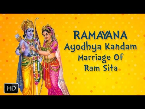Ramayan Full Movie - Ayodhya Kandam - Marriage Of Ram Sita - Animated Stories For Children video