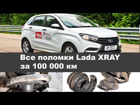 Все поломки Lada XRAY за 100 000 км
