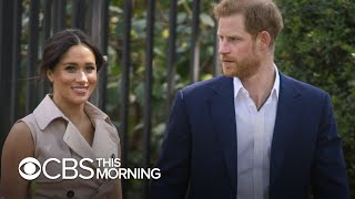 "Harry and Meghan are in ""uncharted territory"" after royal split"