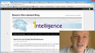 Free Recruiter Tools - Search and Scrape Email Addresses, LinkedIn, Twitter, Facebook and more